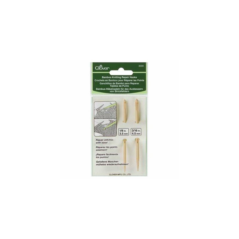 Crochets en Bambou pour Réparer