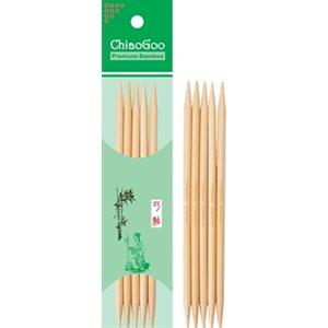 Aiguille Double Pointes Bambou 5'' (13cm) - Naturel