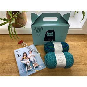 Kit pour apprendre à tricoter - Sandnes Barn